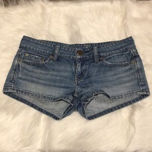 AE shorts, Size 2, denim